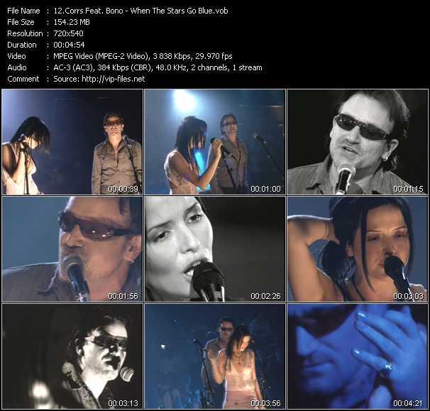 Corrs Feat. Bono - When The Stars Go Blue