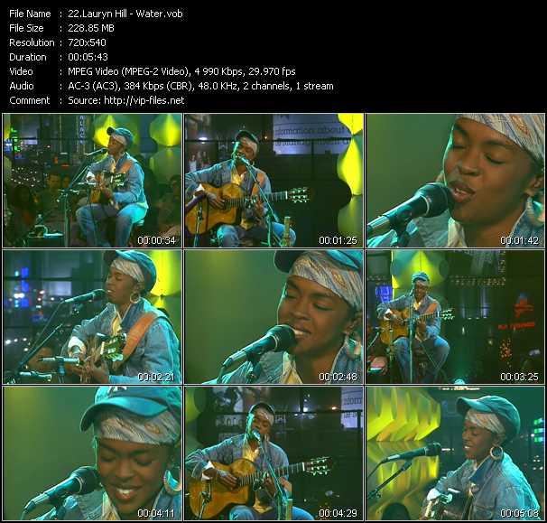 Lauryn Hill - Water
