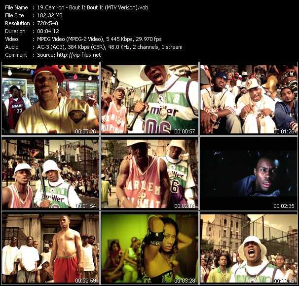 Cam'ron - Bout It Bout It (MTV Verison)