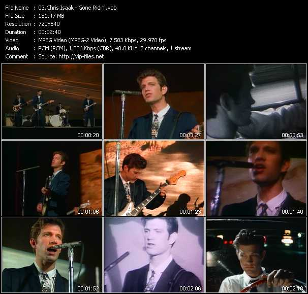 Chris Isaak - Gone Ridin'
