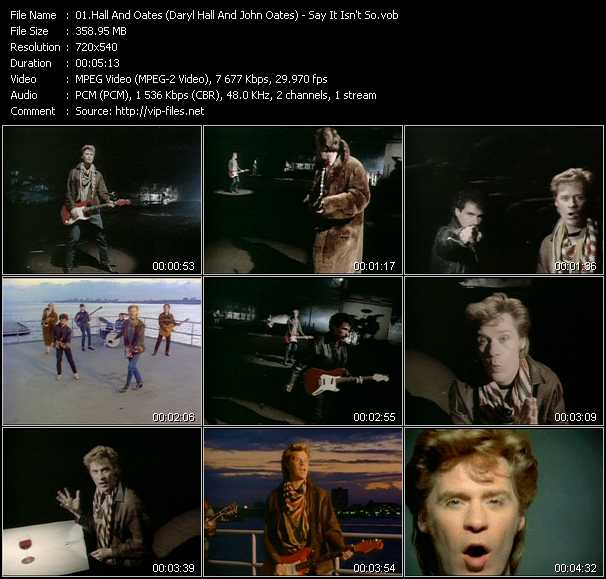 Hall And Oates (Daryl Hall And John Oates) - Say It Isn't So