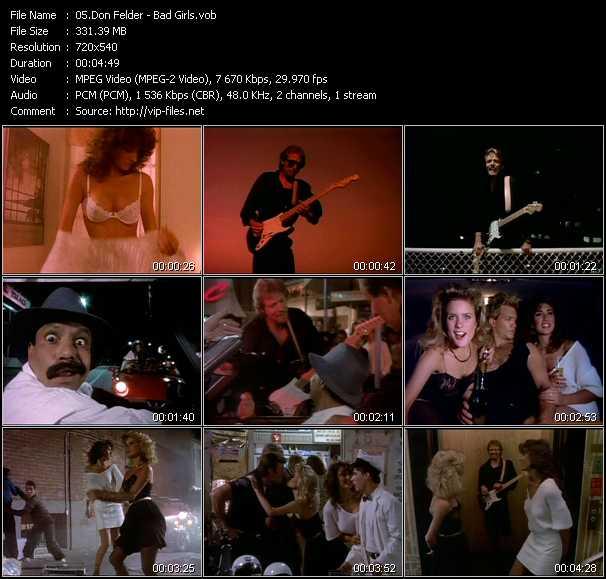 Don Felder - Bad Girls