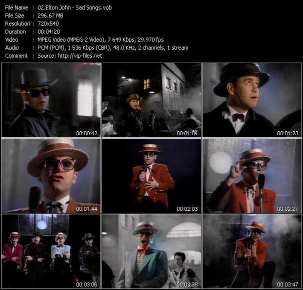 Elton John - Sad Songs