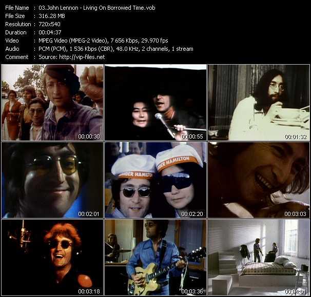 John Lennon - Living On Borrowed Time