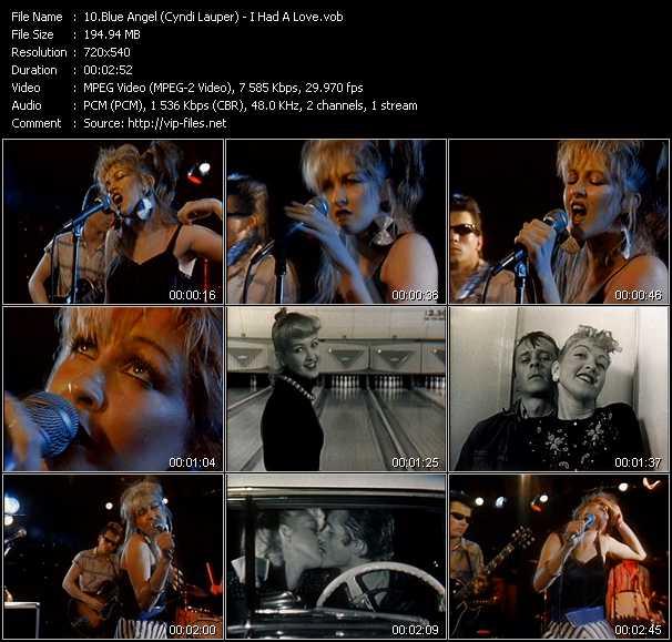 Blue Angel (Cyndi Lauper) - I Had A Love