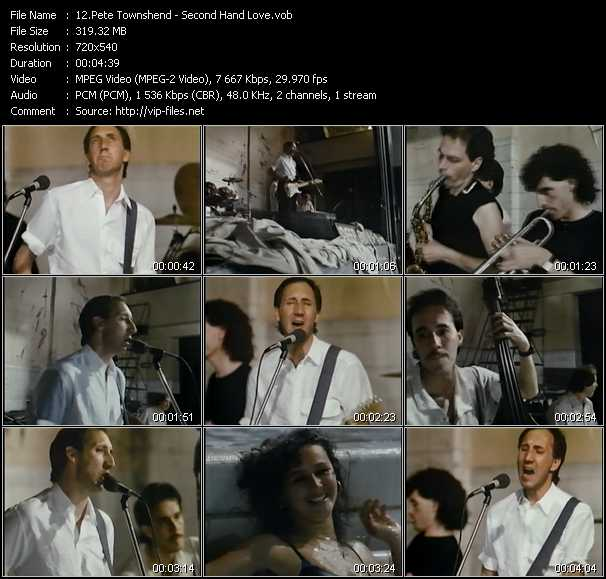 Pete Townshend - Second Hand Love