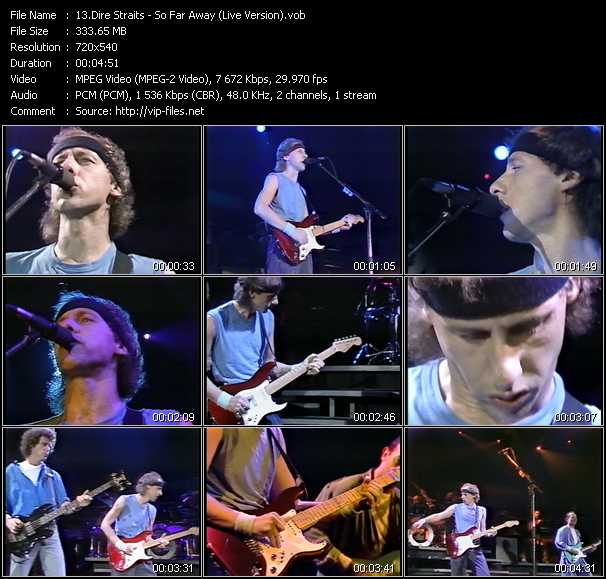 Dire Straits - So Far Away (Live Version)
