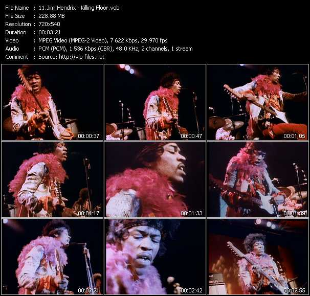 Jimi Hendrix - Killing Floor