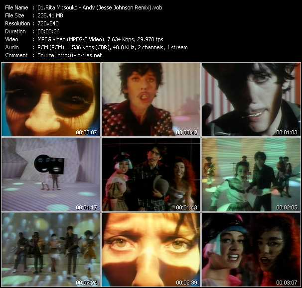 Les Rita Mitsouko - Andy (Jesse Johnson Remix)