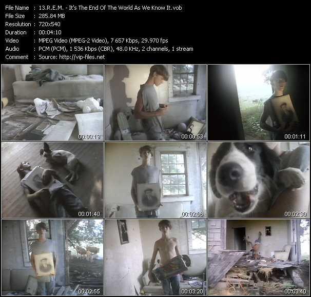 R.E.M. - It's The End Of The World As We Know It