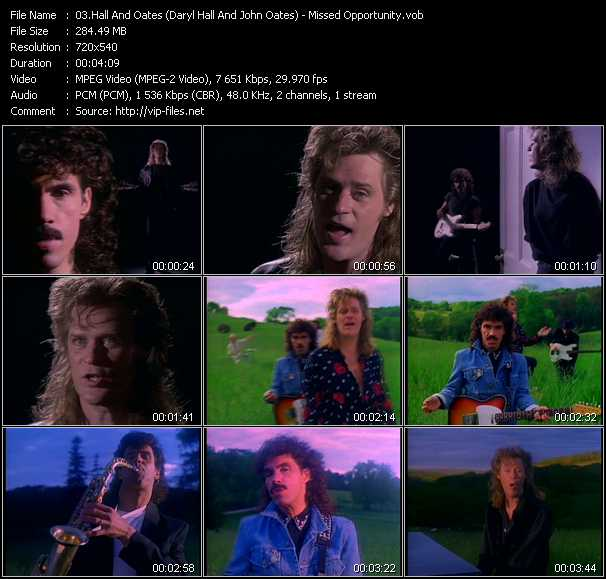 Hall And Oates (Daryl Hall And John Oates) - Missed Opportunity