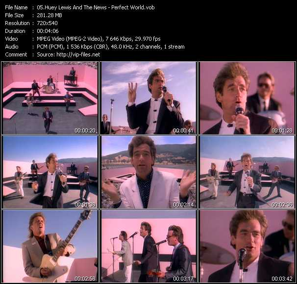 Huey Lewis And The News - Perfect World