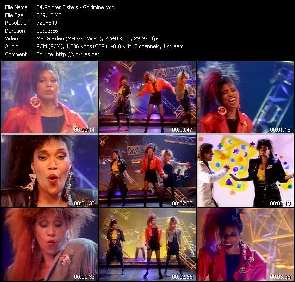 Pointer Sisters - Goldmine