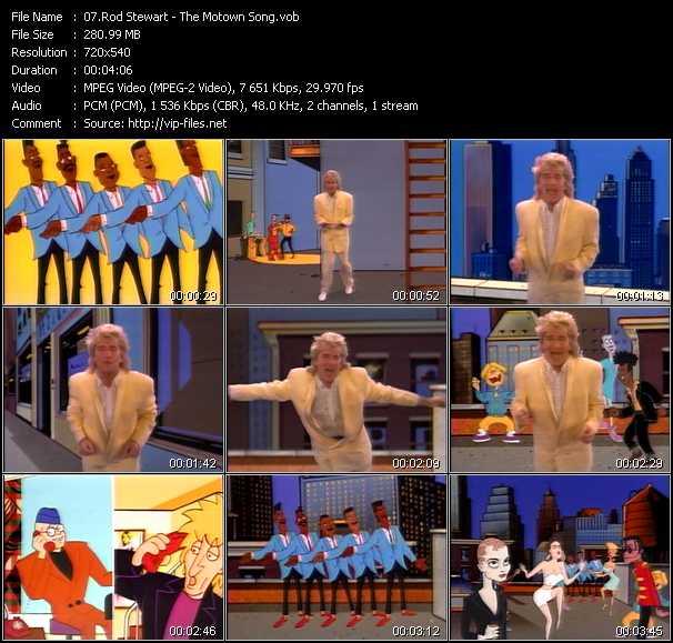 Rod Stewart - The Motown Song