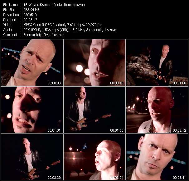 Wayne Kramer - Junkie Romance