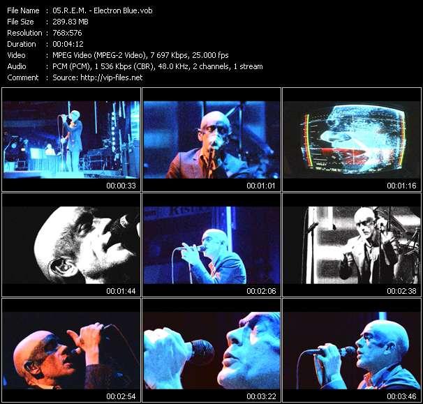 R.E.M. - Electron Blue