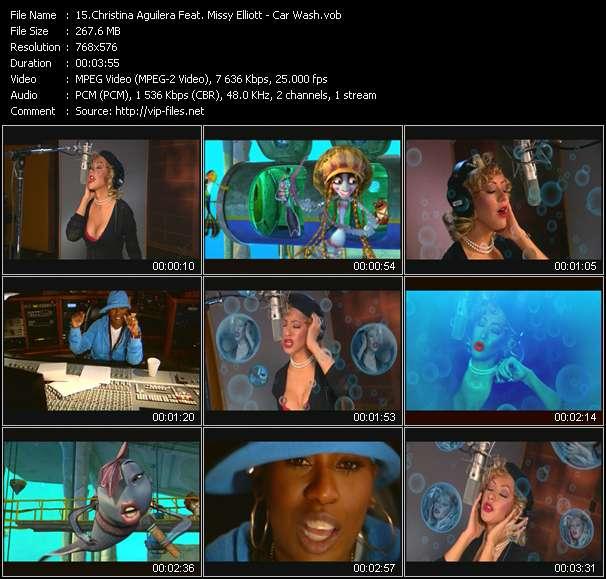 Christina Aguilera Feat. Missy Elliott - Car Wash