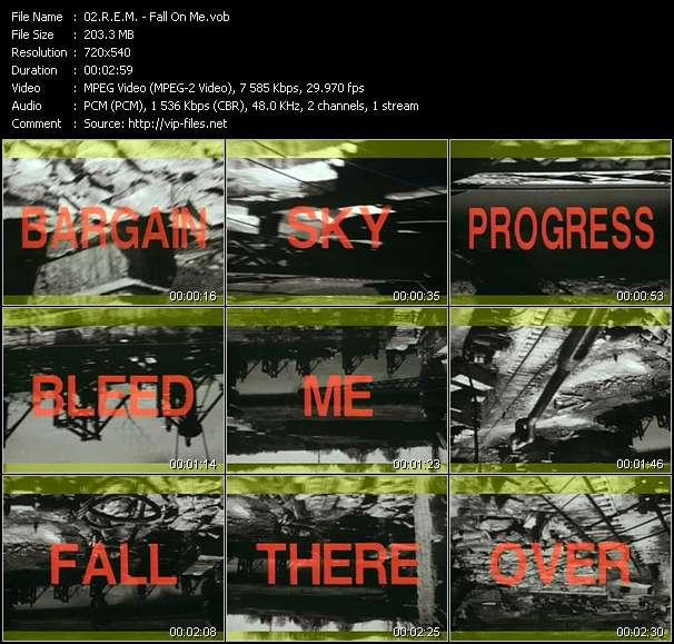 R.E.M. - Fall On Me