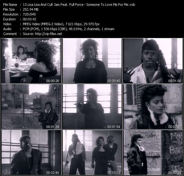 Lisa Lisa And Cult Jam Feat. Full Force - Someone To Love Me For Me