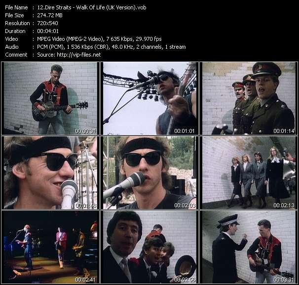 Dire Straits - Walk Of Life (UK Version)