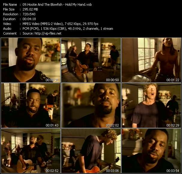 Hootie And The Blowfish - Hold My Hand