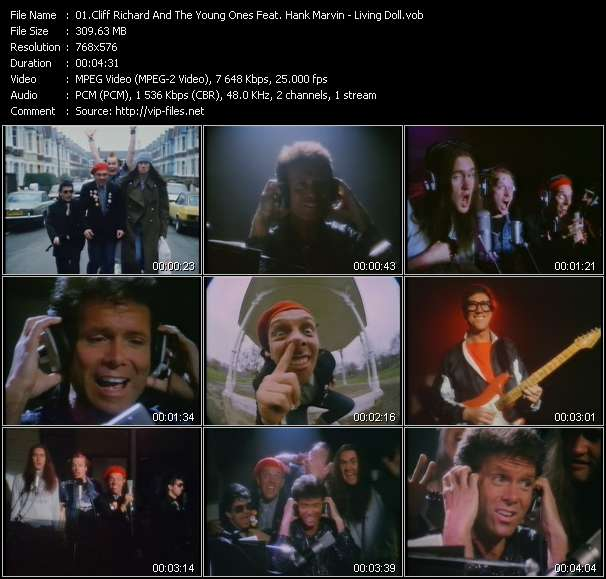 Cliff Richard And The Young Ones Feat. Hank Marvin - Living Doll