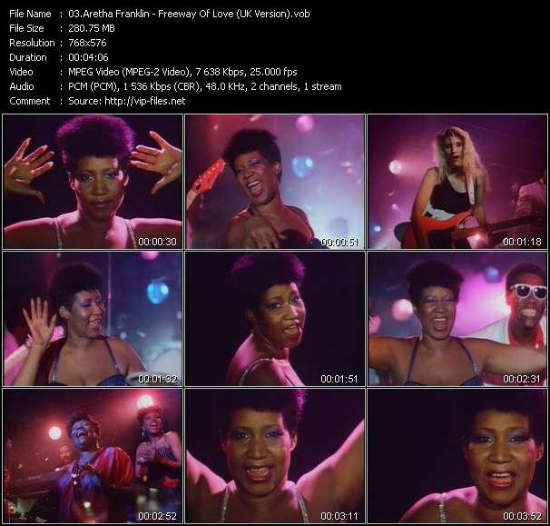 Aretha Franklin - Freeway Of Love (UK Version)