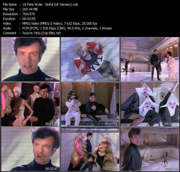 Pete Wylie - Sinful (UK Version)