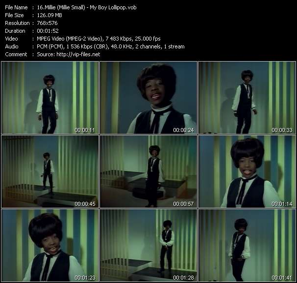 Millie (Millie Small) - My Boy Lollipop