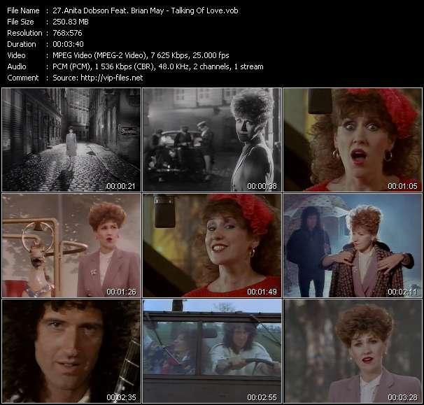 Anita Dobson Feat. Brian May - Talking Of Love