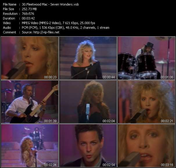 Fleetwood Mac - Seven Wonders