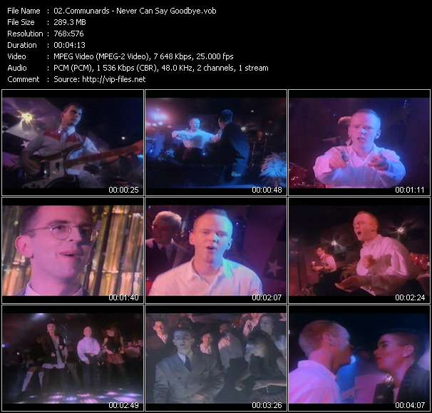 Communards - Never Can Say Goodbye