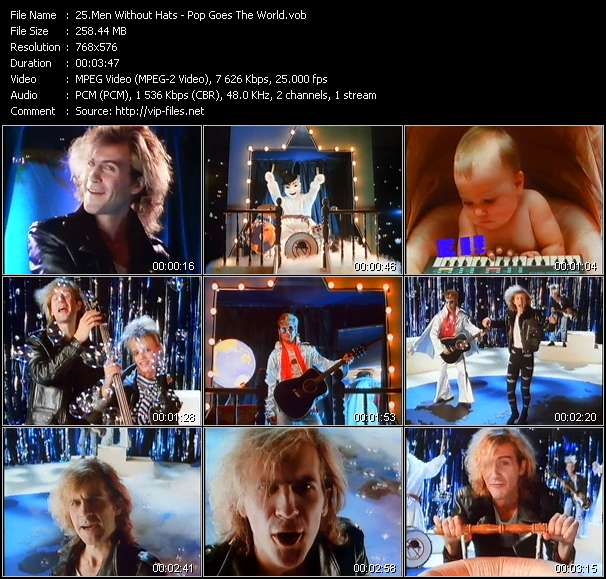 Men Without Hats - Pop Goes The World