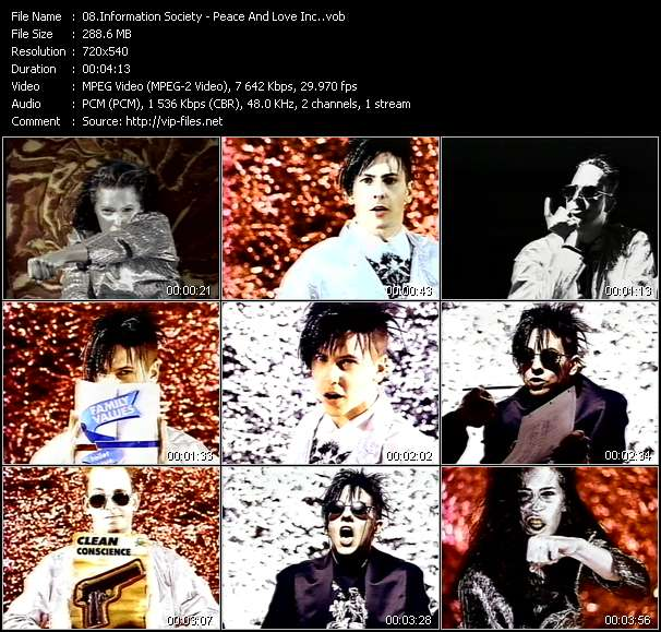 Information Society - Peace And Love Inc.
