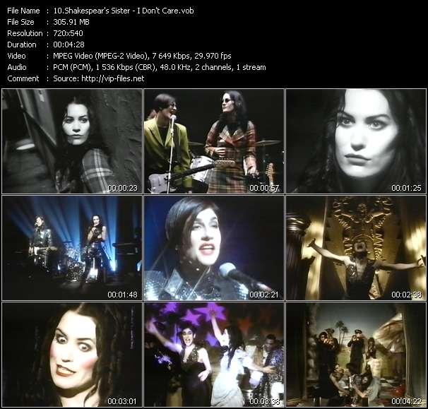 Shakespear's Sister - I Don't Care