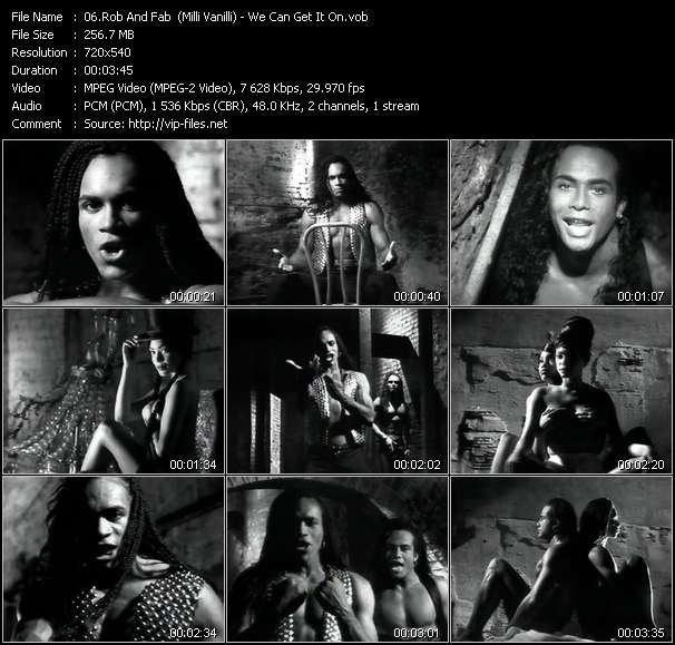 Rob And Fab (Milli Vanilli) - We Can Get It On
