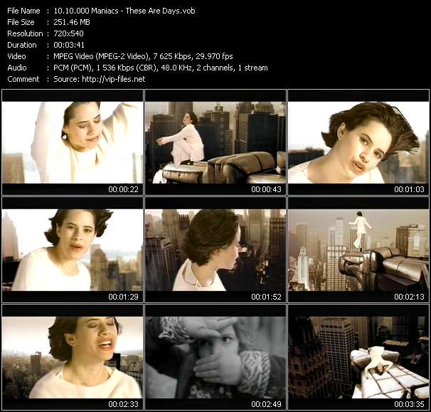 10.000 Maniacs - These Are Days