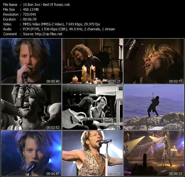 Bon Jovi - Bed Of Roses