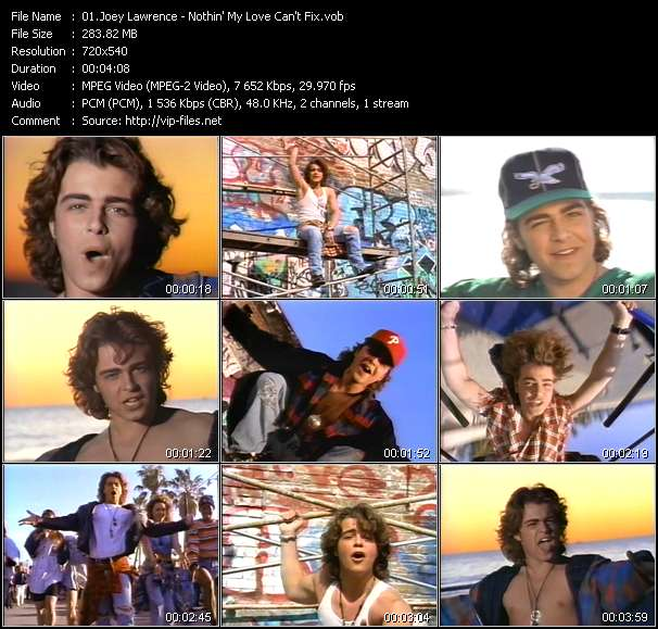 Joey Lawrence - Nothin' My Love Can't Fix