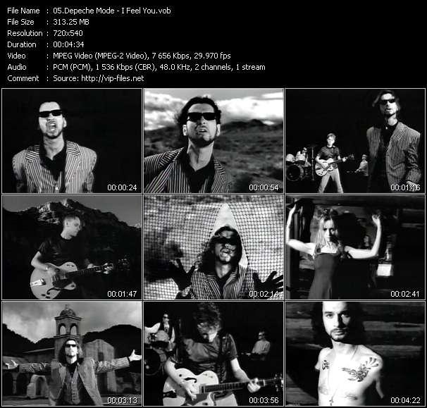 Depeche Mode - I Feel You