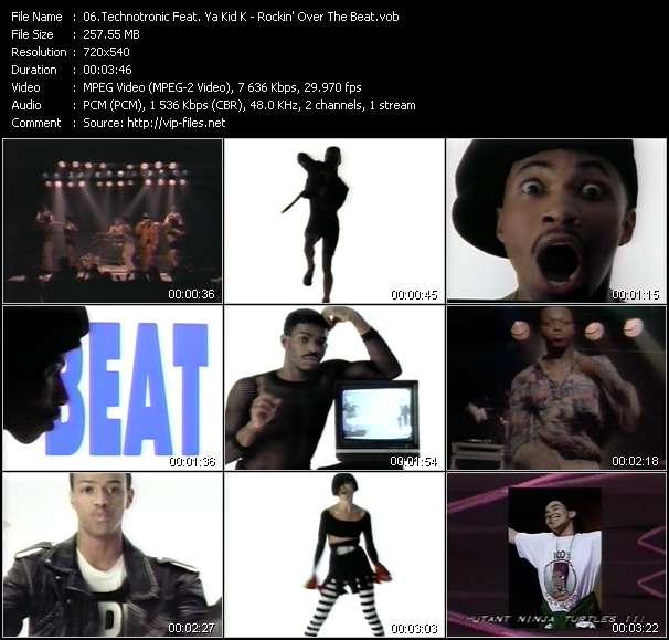 Technotronic Feat. Ya Kid K - Rockin' Over The Beat (1993 US Version)