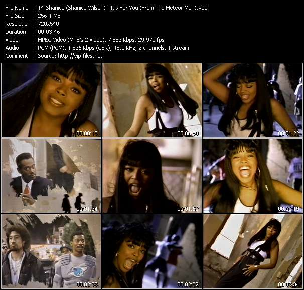 Shanice (Shanice Wilson) - It's For You (From The Meteor Man)