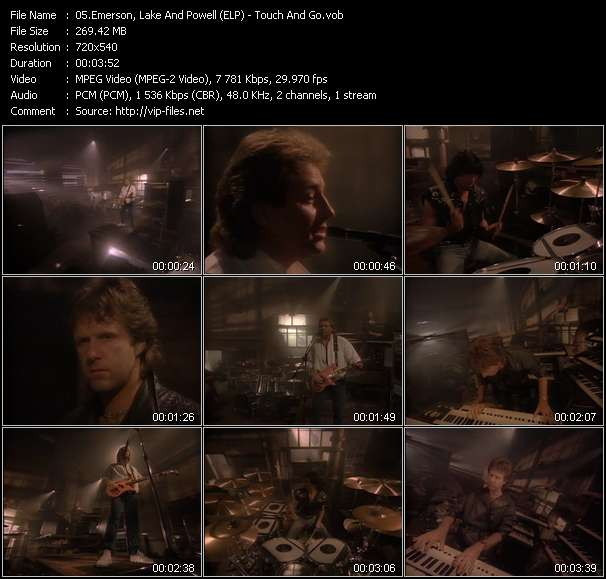 Emerson, Lake And Powell (ELP) - Touch And Go