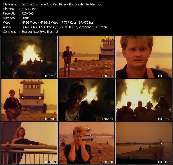 Tom Cochrane And Red Rider - Boy Inside The Man