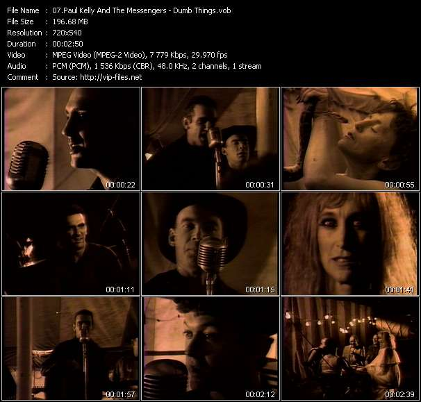 Paul Kelly And The Messengers - Dumb Things