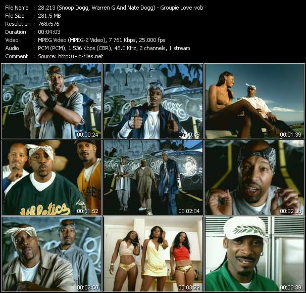 213 (Snoop Dogg, Warren G And Nate Dogg) - Groupie Love