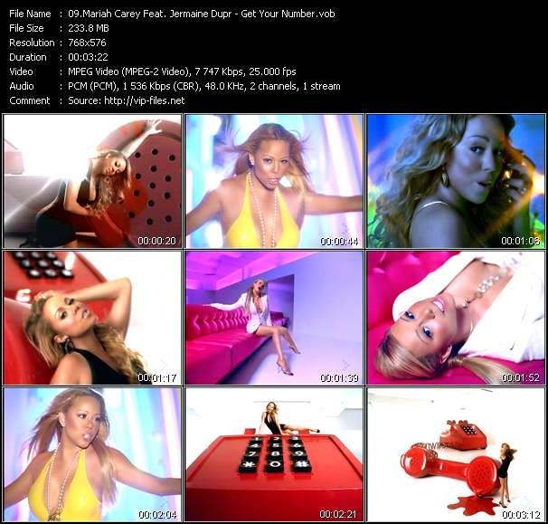 Mariah Carey Feat. Jermaine Dupr - Get Your Number