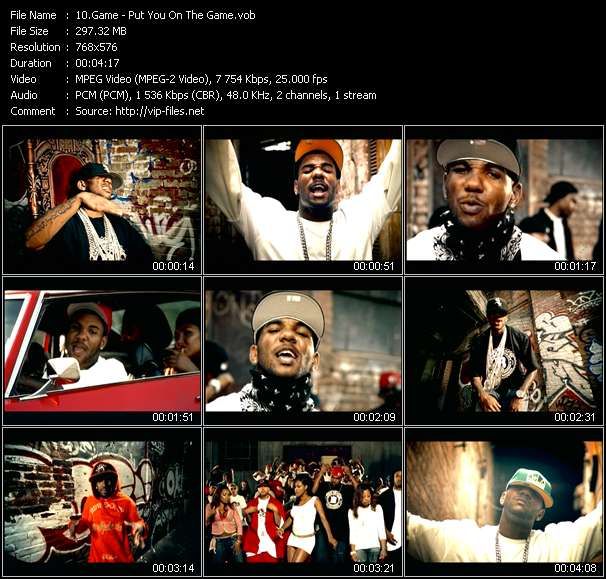 Game - Put You On The Game