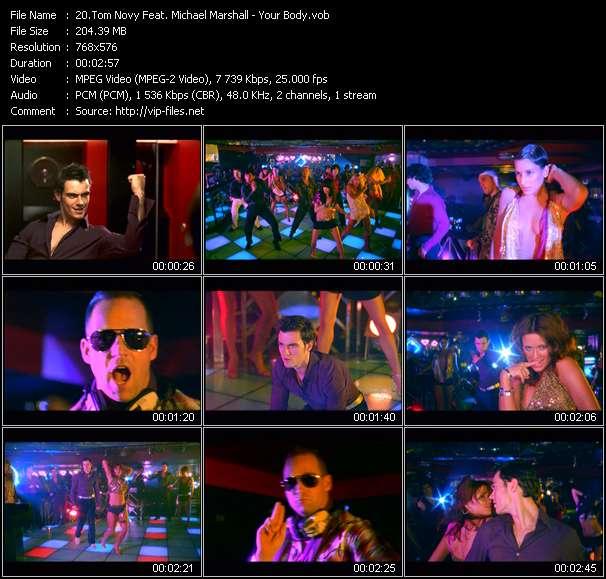 Tom Novy Feat. Michael Marshall - Your Body