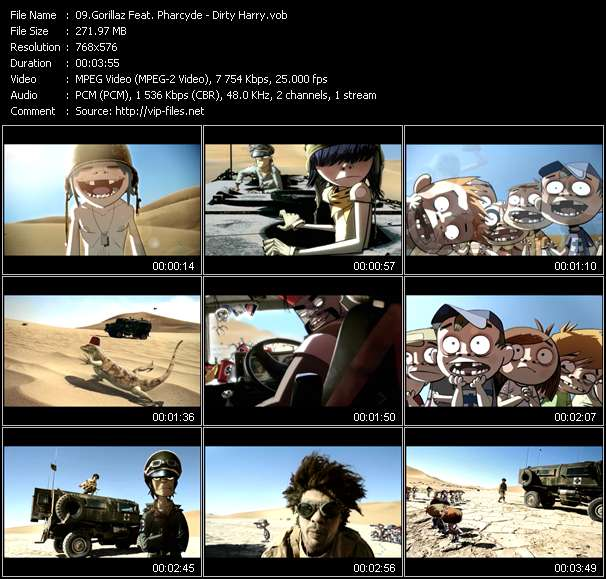 Gorillaz Feat. Pharcyde - Dirty Harry